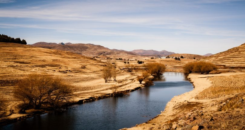 Water has become the new gold for Lesotho