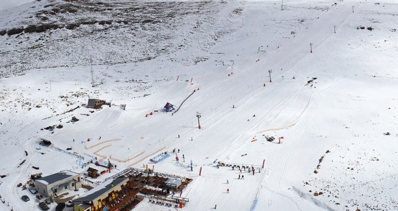 Postcard fromLesotho's ski Resort Afriski