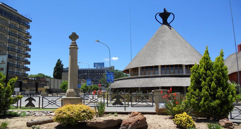 A plurality of architectural styles in Maseru